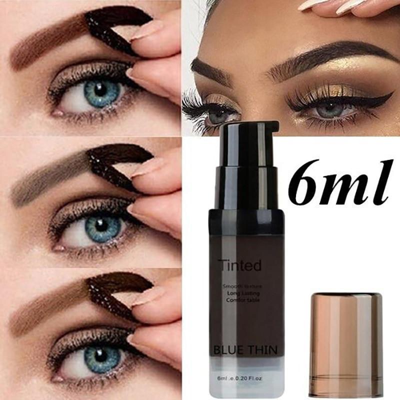 1pcs Women Eyebrow Dye Gel Waterproof Wax Long Lasting Eye Brow Enhancers Tattoo Tint Pigment Shade Natural Make Up Cosmetic