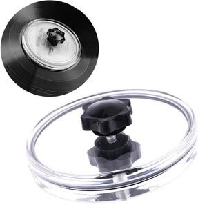 Image 1 - Водонепроницаемый акриловый LP виниловый очиститель для записи, зажим для записи этикеток, защитная клипса, фонограф с инструментом для очистки ткани