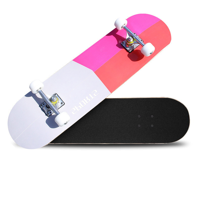 Manufacturers Direct Selling Maple Double Snubby Four Wheel Skateboard Adult For Kids Highway Brush Street Profession Vigor Boar