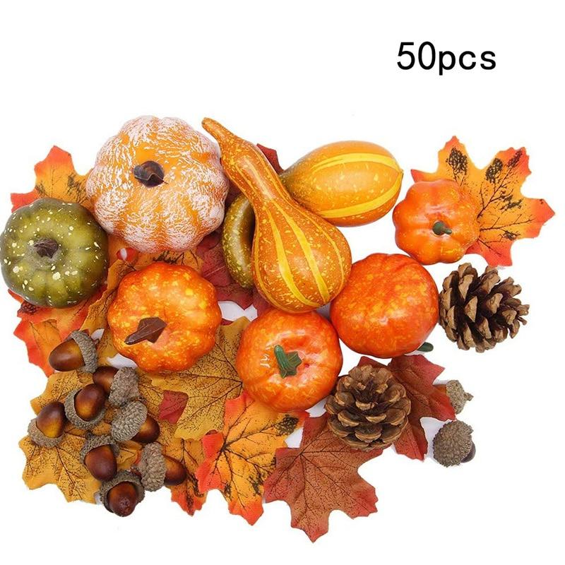 10Pcs HOT Christmas Acorn Simulation Decorations Autumn Harvest Party Decorative
