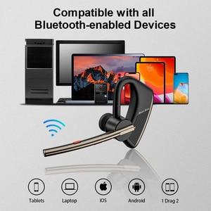 Image 5 - New Bee Bluetooth Earphones Wholesale M50 5PCS Wireless Headphones with Dual Mic Earphone Hands free Headset