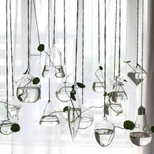 Стильный домашний сад прозрачный стеклянный цветок висячая ваза плантационный террариумный контейнер вазы