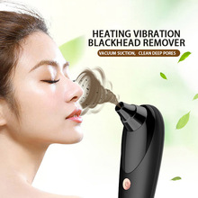 Black Dot  Vacuum Cleaner Electric Blackhead Remover Pore Shrink Pores Facial Skin Cleansing 3 Kinds Of Suction Heads