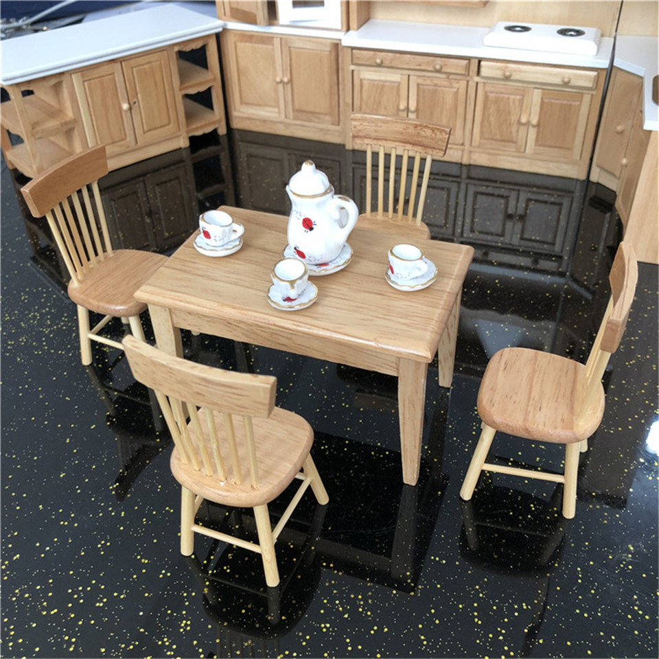 1//12 escala plan de Muebles de Casa de Muñecas Madera maxicuna BEF129