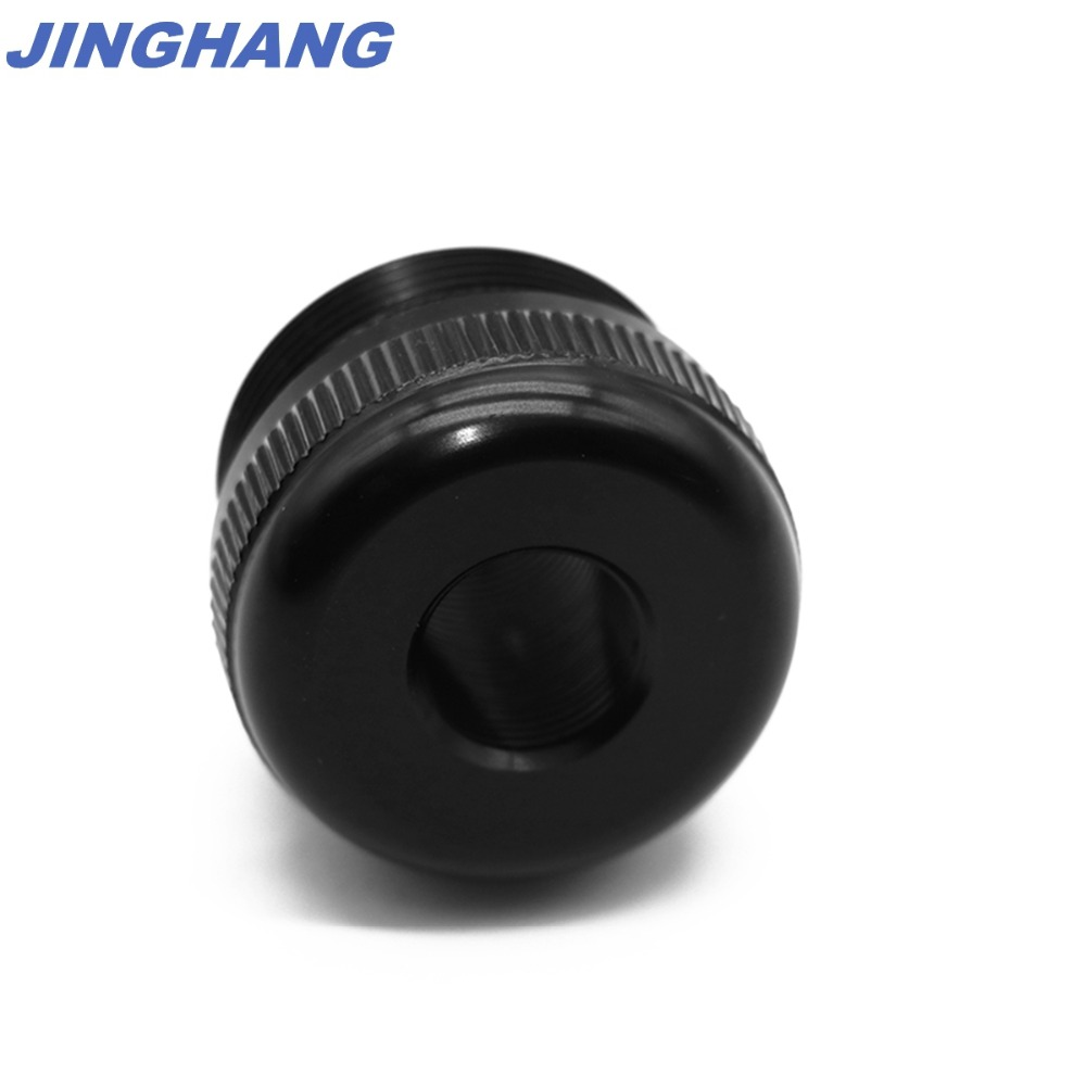 Maglite C Cell Cap Set 1/2-28 Aluminum End Caps Black, Free & Fast USPS Shipping From US STOCK 3