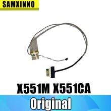 Новый светодиодный ЖК-видео гибкий кабель для For Asus K53E K53 X53 X53E A53S K53S K53SV K53SD X551 X551M X551CA K56C K56CM K56CA K56CB K56CB S56C