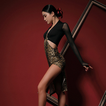 Dance-Dress Cloth Chacha Latin Samba Tango Dancing Practise Performamnce Women New L9678