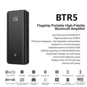 Image 2 - Fiio BTR5 ES9218P USB DAC Bluetooth 5.0 amplificatore per cuffie amplificatore ricevitore 3.5/2.5mm uscita AAC SBC aptX LDAC amplificatore Audio per auto