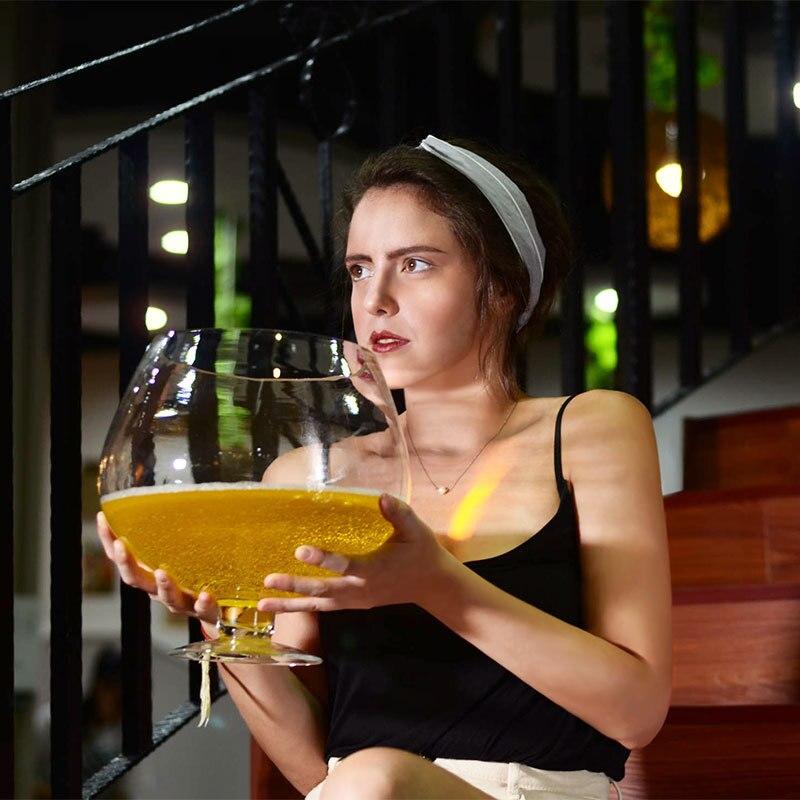 Супер большой винный бокал супер большая емкость пивной бокал большой винный бокал hero стаканы, бокал для вина