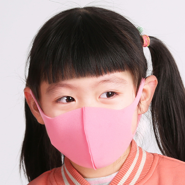 Mask Solid Color Half Face Mask Summer Dust Proof Breathable Solid Thin Face Mask for Kids Adults 5