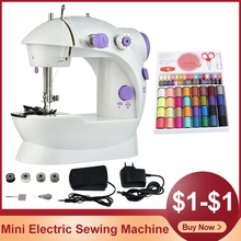 Mini Sewing Machine For Beginner Electric Portable Sewing And Quilting Machine Sewing Kit for Household Included Sewing Feet