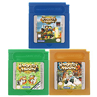 16 Bit Video Game Cartridge Console Card Harvest Moon Series English Language Version For Nintendo GBC image