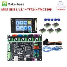 Printer-Controller-Kit Mainboard Display Mks Gen Stepper-Motor-Driver Touch-Screen 3d