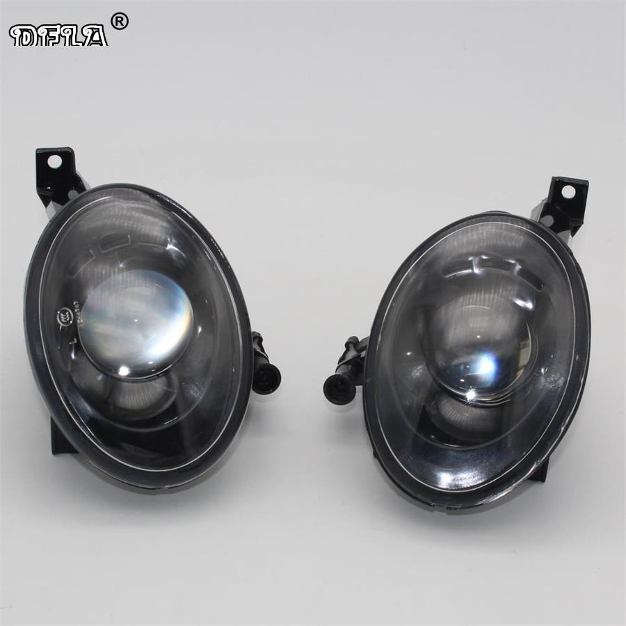 2pcs Car Light For VW Jetta A6 MK6 Variant 2010 2011 2012 2013 2014 Car-styling Front Fog Light Fog Lamp With Convex Lens