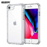 Carcasa ESR para iPhone 2020 SE2 9/8/7 11/11 Pro Max/XR delgada ligera militar-garde Back Bumper cubierta de protección de esquina