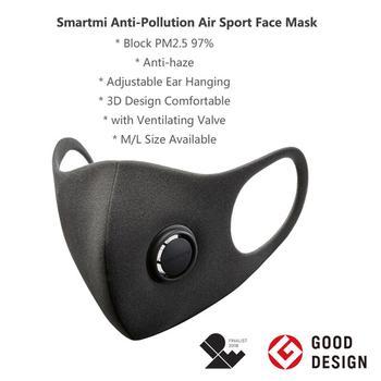 Xiaomi SmartMi PM2.5 brume masque purement Anti-brume masque facial réglable oreille pendaison mode 3D conception lumière masque respiratoire