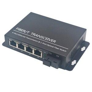 Image 3 - gigabit Ethernet PoE Switch  Uplink Fast Ethernet switch POE Ethernet Media Converter  10/100/1000M fiber optical POE switch