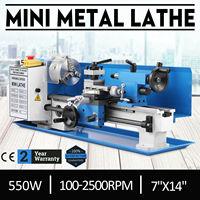 Mini Draaibank Machine Metaalbewerking Digitale Controle Variabele Snelheid Bench Top Frezen 550W