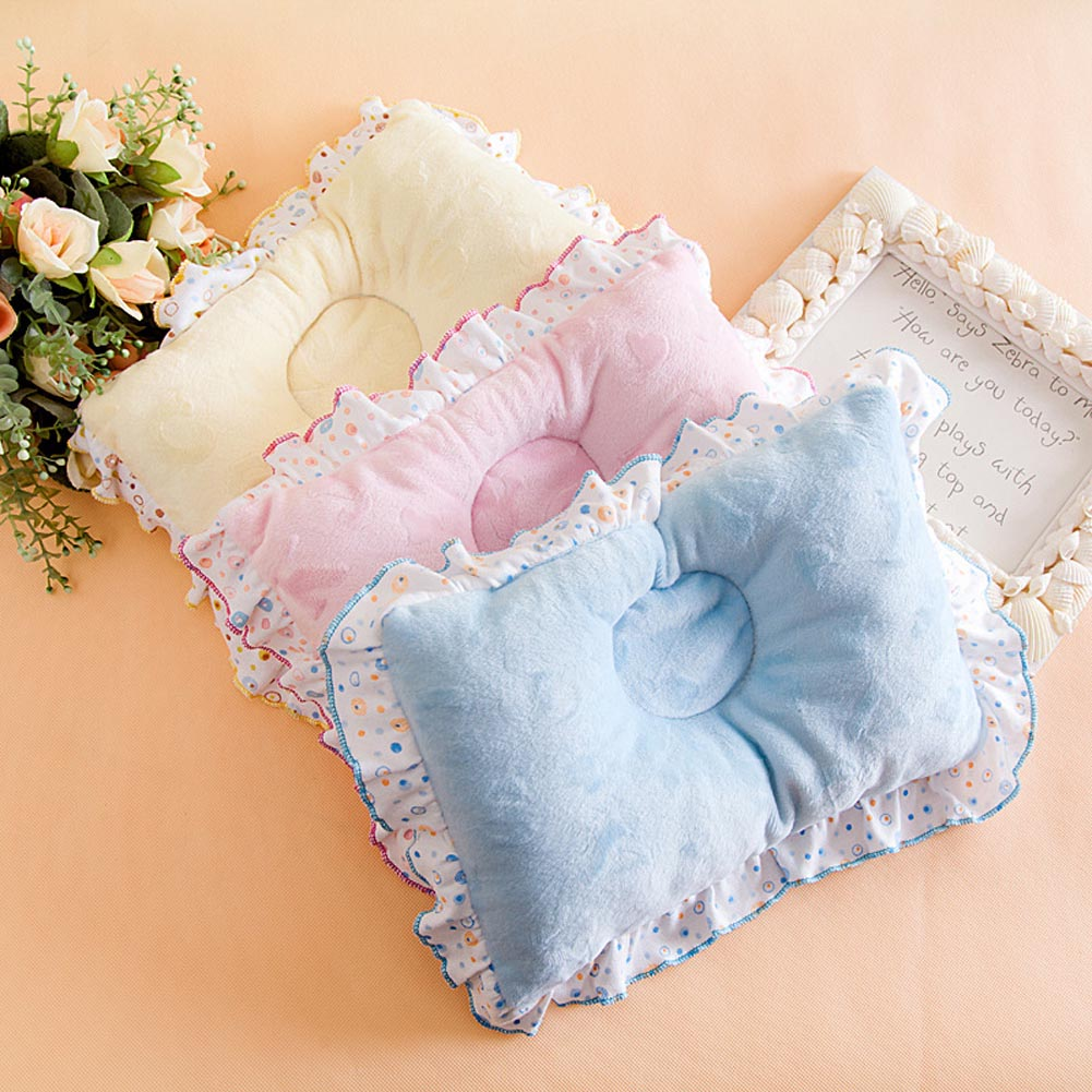 2017 Natural  Sleep Positioner Prevent Flat Head Shape Support Pillow Soft Baby Care Cushion