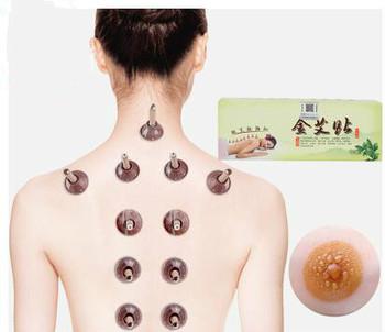 TCM Moxa akupunktura świecznik Moxibustion Tube meridiany piołun mikro-dym masaż ciała relaxant patch zdrowie i uroda tanie i dobre opinie HANRIVER Z Chin Kontynentalnych Na piersi