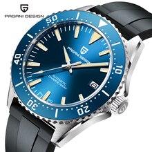 PAGANI DESIGN-Reloj de pulsera mecánico automático para hombre, de lujo, NH35A, movimiento de acero inoxidable, reloj con cristal de zafiro, masculino