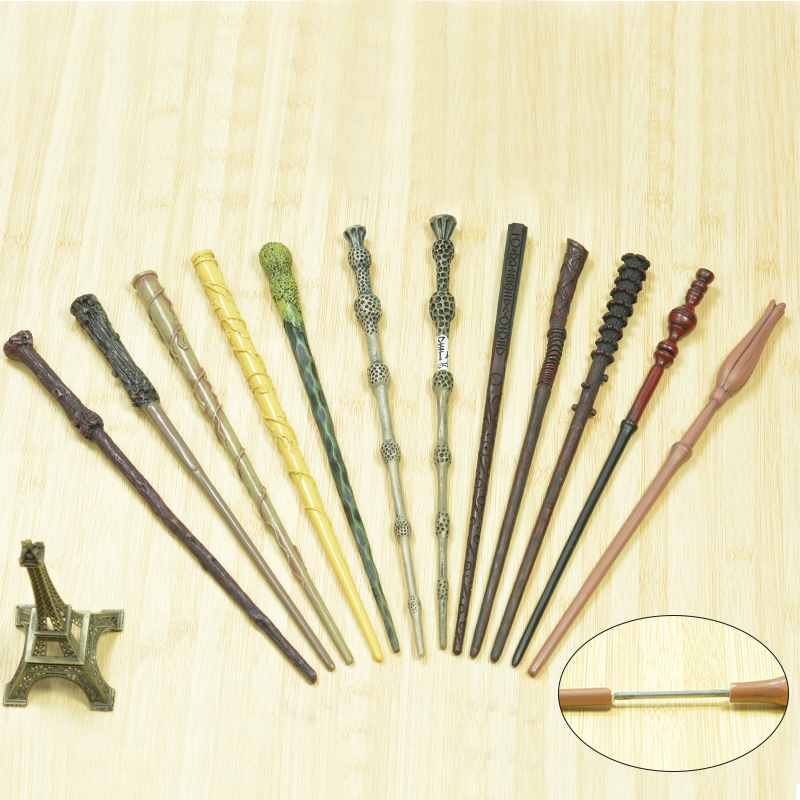Iron Core 12 Kind Of Magic Wands Potter Cosplay  Luna Hermione Magic Wand No Box Packing