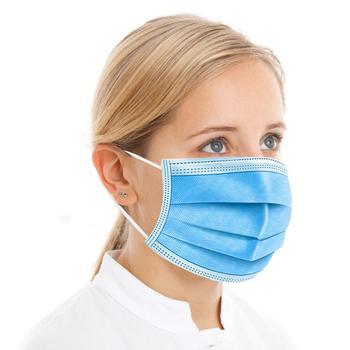 Gorąca sprzedaż 3-warstwę maski na 50 sztuk twarzy maski na usta tkanina Meltblown maski włókniny jednorazowe ochrona przed kurzem Earloops maski szybka dostawa tanie i dobre opinie 3-Ply Non-woven fabric Masks Personal about 9 5*17 5cm 1 10 20 50 pcs* Disposable mouth mask DROPSHIPPING