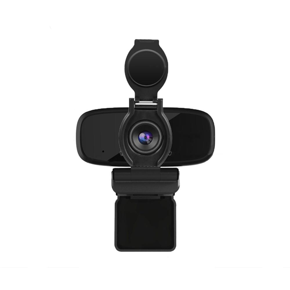 LarmTek 1080P HD Webcam, USB Webcam With Built-In Stereo Microphones,HD Camera With Privacy Protector.(W2pro)