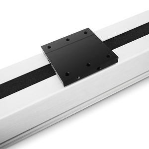Image 4 - Free Shipping 200~3000mm stroke cnc belt drive linear guide slide rail actuator with motor 0.1mm accurancy