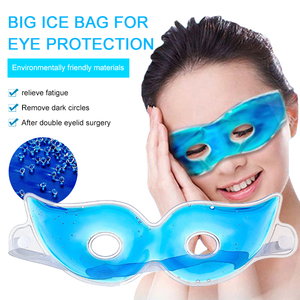 Eye Mask Ice Gel Eye Fatigue Relief Reduce Dark Circles Cooling Eye Care Relaxing Sleeping Eye Patches Mask Blindfold TSLM1