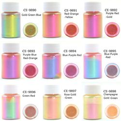 Mirror Chameleons Resin Pigment Pearlescent Epoxy Resin Magic Discolor Powder T4MD