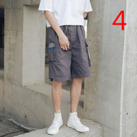Shorts men loose sports breathable casual pants female 2019 summer tide brand