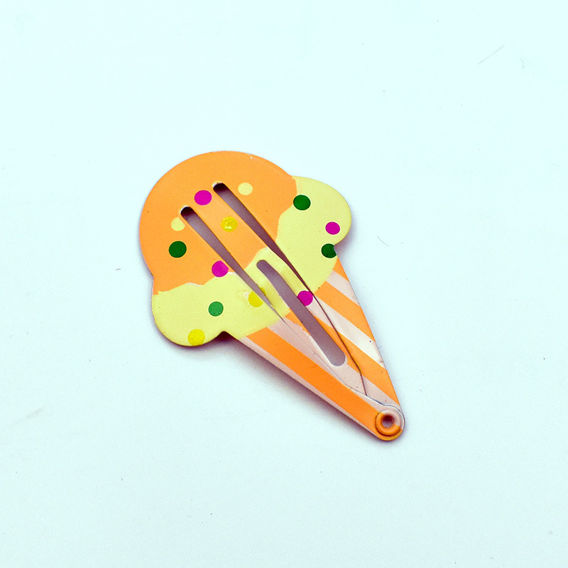 16 pcs different color and shape children BB clip fruit animal shape of girls hairpin kids clip baby hairpins