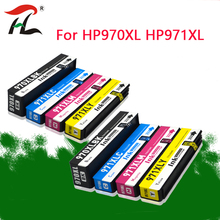 2SET For HP 970 971 970xl 971xl Remanufactured Ink Cartridge For HP Officejet Pro X451dn X451dw X551dw X476dn X476dw X576dw