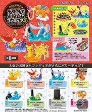 TAKARA TOMY 8pcs/set Pocket Monsters Pikachu Eevee Figure Elf Pokemon Doll Scenes Action Figures Children Gifts Toys