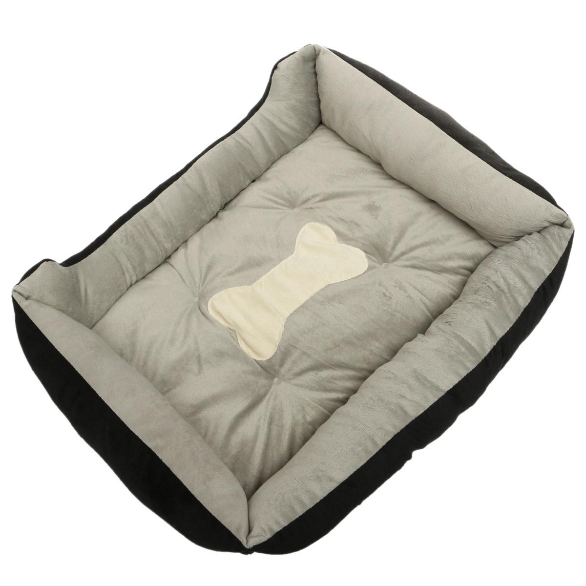 Bed For Dogs Warm Flannel Warm Waterproof Bottom Soft Fleece Warm Cat House Petshop Puppy Mats Kennel Play Rest Sleep Cushion 14