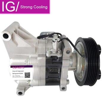 Auto AC Compressor Voor Mazda 2 Auto Luchtcompressor Pomp 2010 2011 2012 V09A1AA4AK D651-61-K00C D65161450G D65161450H