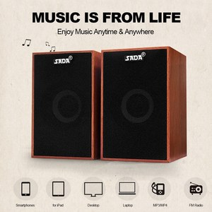 USB Wired Wooden Combination S