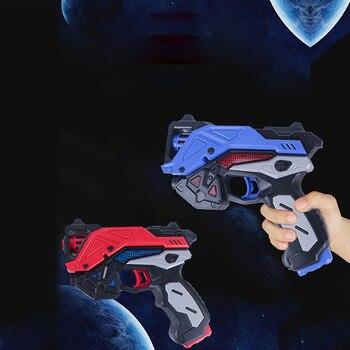 Pistola de sonido eléctrica para niños, luz de voz, pistola de juguete para niño y niña, pistola espacial, arma Nerf Rivers, pistola sin batería