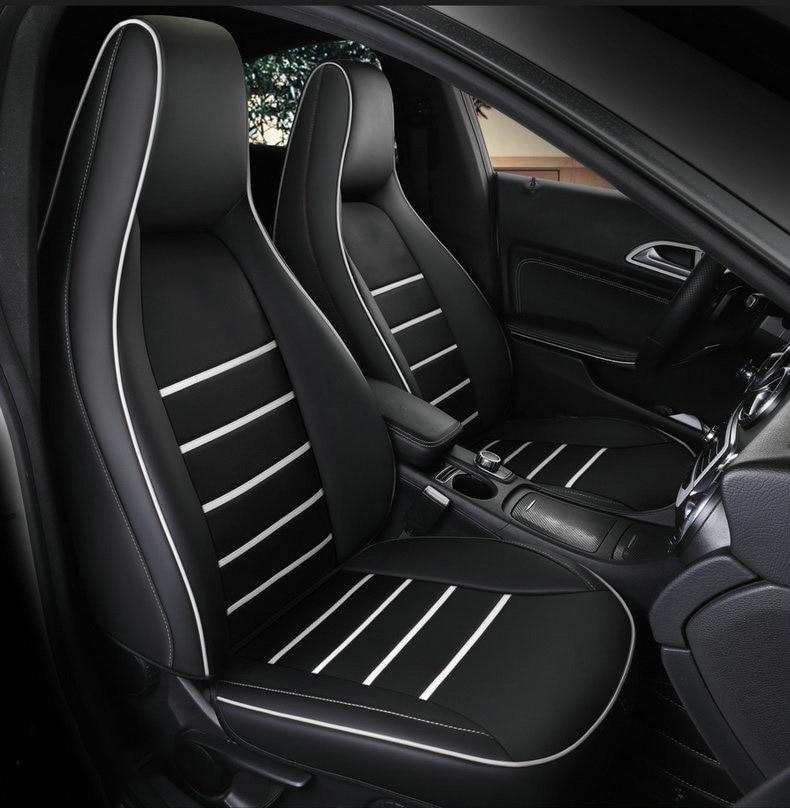 Full Set Luxury Padded Leather Look Car Seat Covers Suzuki Grand Vitara