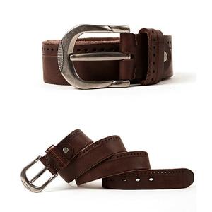 Image 2 - MEDYLA Vintage Original Leather Belt for Men High Quality Natural Leather No interlayer Mens Belt for Jeans Casual Pants