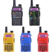 uv 5r 2pcs Baofeng UV-5R מכשיר הקשר UHF VHF ציד רדיו Baofeng UV 5R Ham Radio Station כף יד CB רדיו Comunicador Walky טוקי (2)