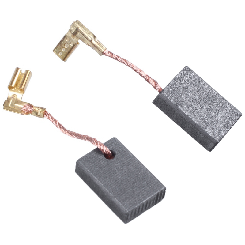 7 x 11 x 16mm Electric Motor Carbon Brushes Set of 10 Grey