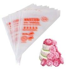 Кондитерские пакеты 10 дюймов одноразовый для глазури мешки 100/шт, украшения сумки для выпечки и украшения тортов