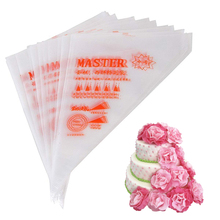 菓子バッグ 10 インチ使い捨てアイシングバッグ 100/個、装飾袋ベーキングとケーキ装飾用品