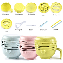 10-In-1 Food-Masher-Maker Bowl Grinder Baby Fruit Feeder Ricer Vegetables Serve