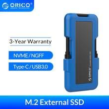 ORICO Externe SSD M.2 NVME NGFF SSD 1TB SSD 128GB 256GB 512GB festplatte Tragbare SSD solid State Drive mit Typ C USB 3,1