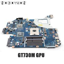 NOKOTION NBM7D11001 NB. M7D11.001 для acer aspire V3-571 V3-571G материнская плата для ноутбука Q5WV1 LA-7912P DDR3 GT730M graphics