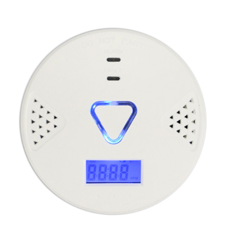 Intelligent Voice Type Carbon Monoxide Sensor Security Alarm Independent Co Gas Alarm