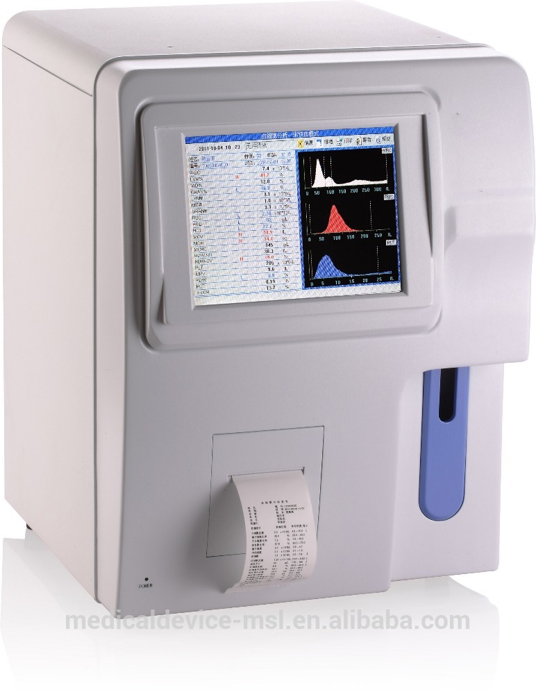 Portable Automation Blood Gas Chemistry Analyzer For Human Or Vet (MSLAB07H)